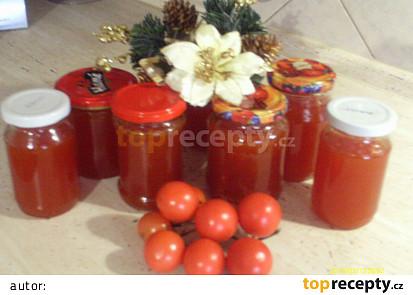 Vánoční rajčatová marmeláda
