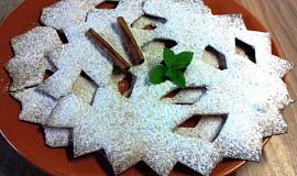 Zasněžené vločky z tortill