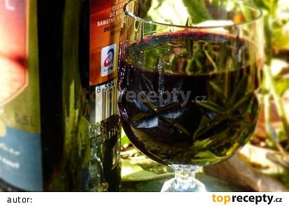 Bezinkový likér (bez kávy)
