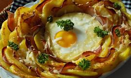 Hermelínové sluníčko v bramborách