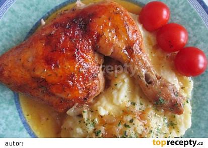 Kuřecí na marmeládě s tymiánem