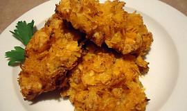 Kuřecí nugetky obalené v chipsech