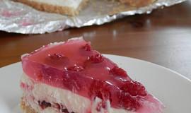 Nepečený ovocný dort s bílou čokoládou