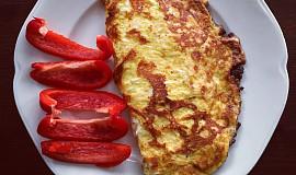 Omeletová placka s avokádovou náplní podle Eduarda
