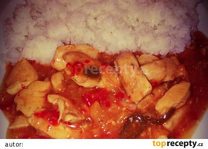 Pikantní kuřecí směs alá čína