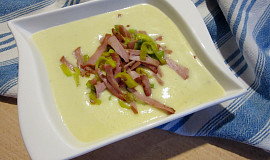 Pórková krémová polévka pikantní