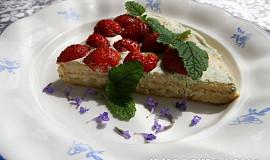 Studený dort proteinový s meduňkou a kořením
