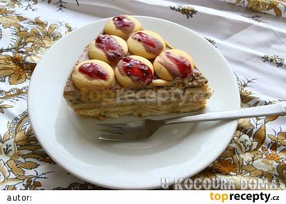 Studený dort s banánem