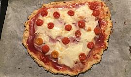 Tvarohovo - ovesná pizza