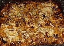 Zapečená hlíva s brambory a smetanou