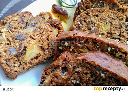 Kořeněný sváteční chlebíček s ořechy