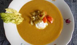 Krémová polévka nejen z řapíkatého celeru