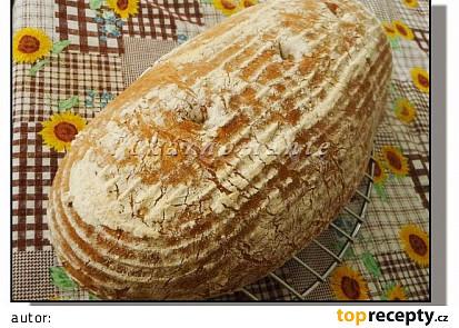 Kváskový chleba s ovesnými vločkami
