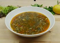 Řecká špenátová polévka