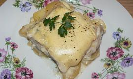 Rybí filet zapečený v bešamelu