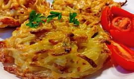 """Špagetové zapečené """"bulky"""", jako malé bramboráčky"""