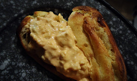 Tvarohovo-bramborová pomazánka se sýrem