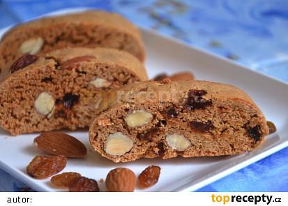 Vánoční biscotti