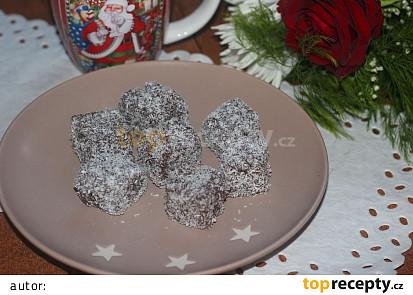 Kostičky v čokoládě a kokosu