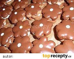 Ořechové kytičky - cukroví
