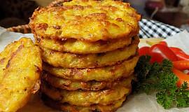 Pečené bramborové placky