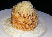 Pečené kuřecí rizoto (bez tuku)