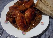 Pivní chilli kuře v cibulovém sosu