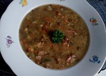 Čočková polévka ze zbylé čočky