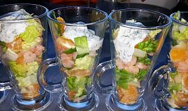 Krevetový koktejl (bez tuku)
