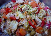 Kuřecí maso se zeleninou - směs