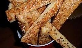 (nejen) Sýrové tyčinky - slané pečivo