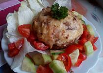 Portobello (nejen) s uzeným sýrem