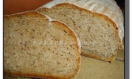 Pšeničný chleba z kyšky