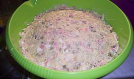 Severočeský  salát bramborový