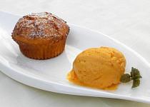 Dýňové muffiny a dýňová zmrzlina
