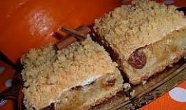 Dýňový drobenkový koláč