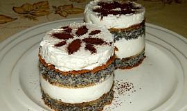 Makové dortíky bez mouky