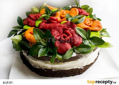Marcipánovo-ricottový dort