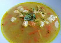 Rybí polévka z mořské tresky