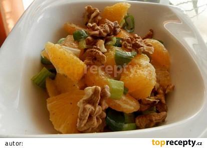 Sicilský pomerančový salát