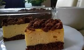 Bezlepkový koláč s tvarohem