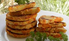 Bramborovo-mrkvové placičky