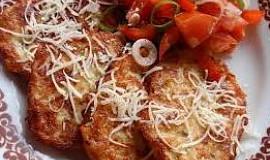 Bramborovo-sýrové placičky (vafle)
