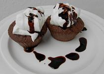 Kakaové muffíny bez mouky