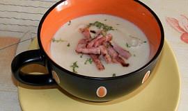 Krémová celerovo-nivová polévka