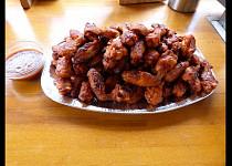 Pikantní křídla ve stylu Buffalo