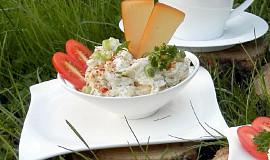 Pomazánka z uzeného sýra s tatarkou