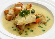 Rybí polévka se smetanou