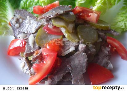 Salát z volské tlamy podle Viléma Vrabce