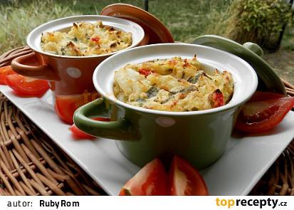 Šťouchané brambory zapečené se zeleninou
